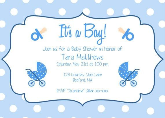 Free Baby Shower Invitation Templates For Word | christmanista.com