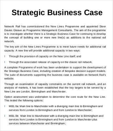 Business case example 12 business case templates free sample business case template 10 free word pdf documents download pronofoot35fo Choice Image