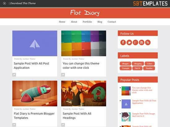 25+ Best Free Responsive Blogger Templates