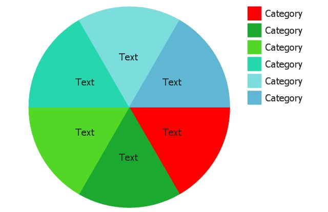 Percentage Pie Chart. Pie Chart Examples | Exploded pie chart ...