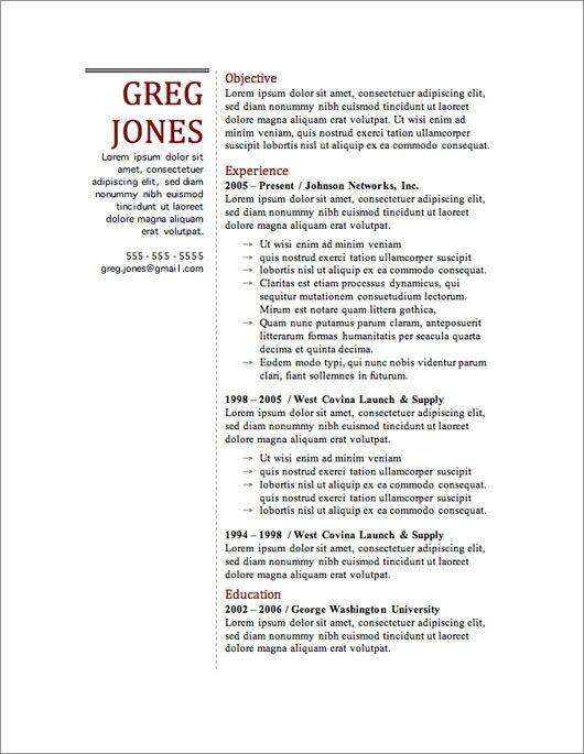 Resume Templates Free | tristarhomecareinc
