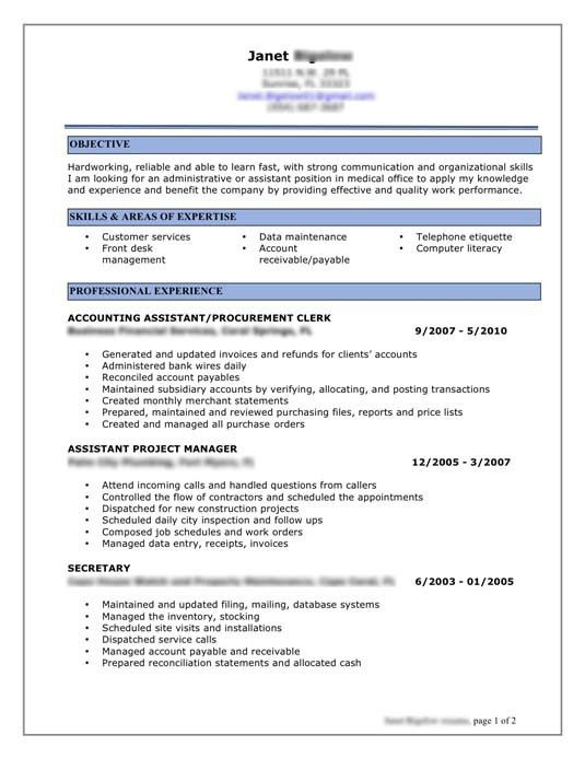 Download Best Sample Resume | haadyaooverbayresort.com