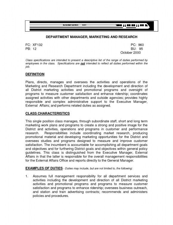 Marvellous Design General Objectives For Resume 15 Resume ...
