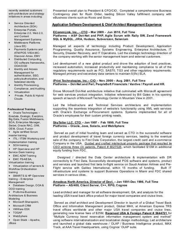 sample java resumes java resume resume format pdf java resume 2 ...