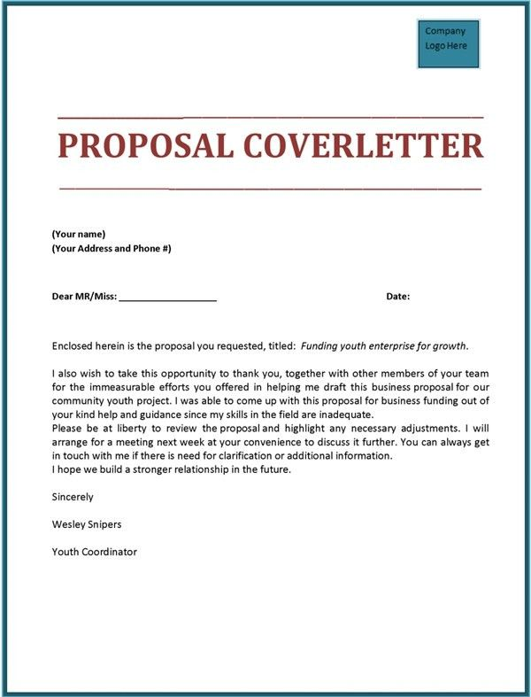 16+ Rfp Cover Letter | Sample Cover Letter To Publisher Serversdb ...