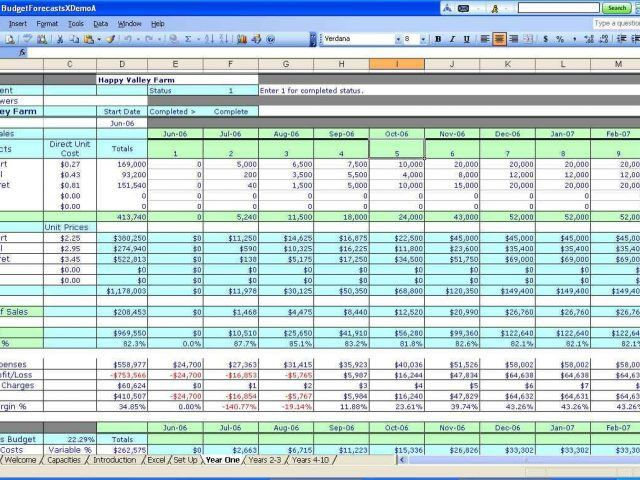 Excel Spreadsheet Template For Small Business Business Record ...