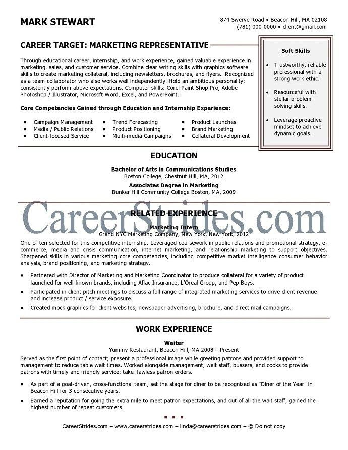 Sample Resume For Recent College Graduate | jennywashere.com