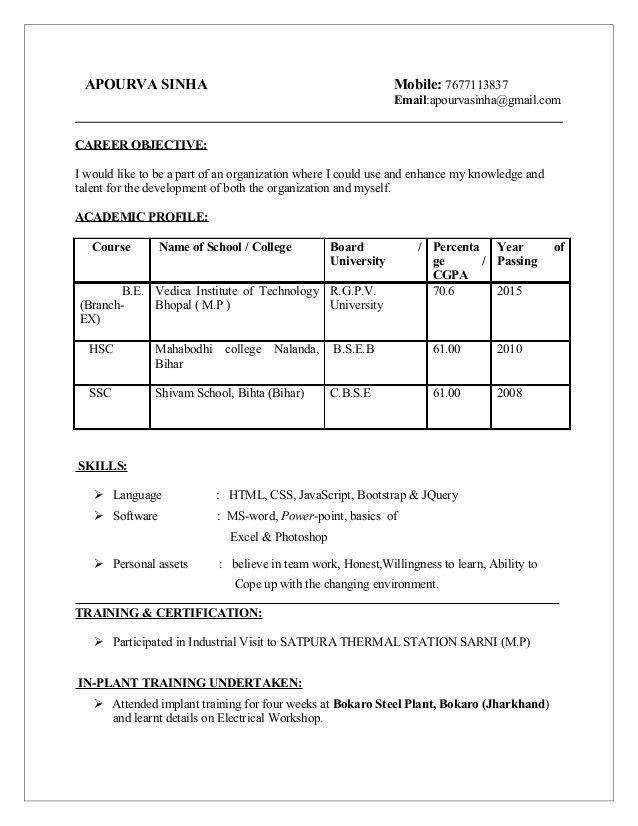 732838713) APOURVA SINHA RESUME & COVER LETTER WEB DEVELOPER