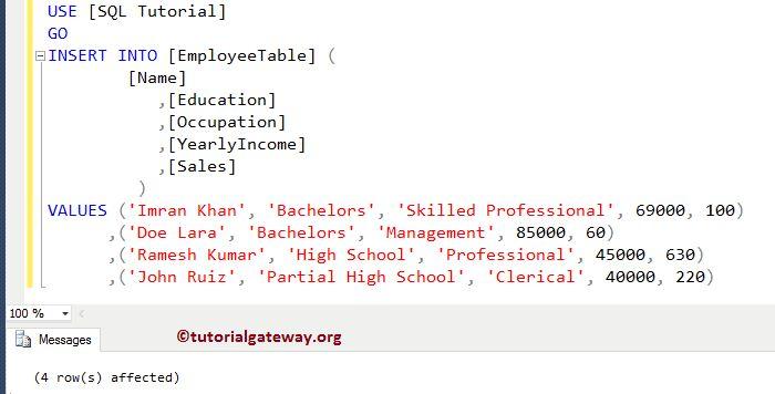 KEYSET Cursor in SQL Server