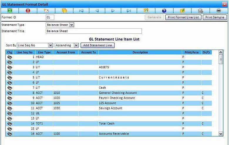 Statement Format Detail - eDeneb Construction Accounting Software ...