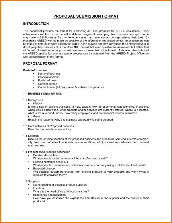Proposal Letter Format.45639157.png | Scope Of Work Template