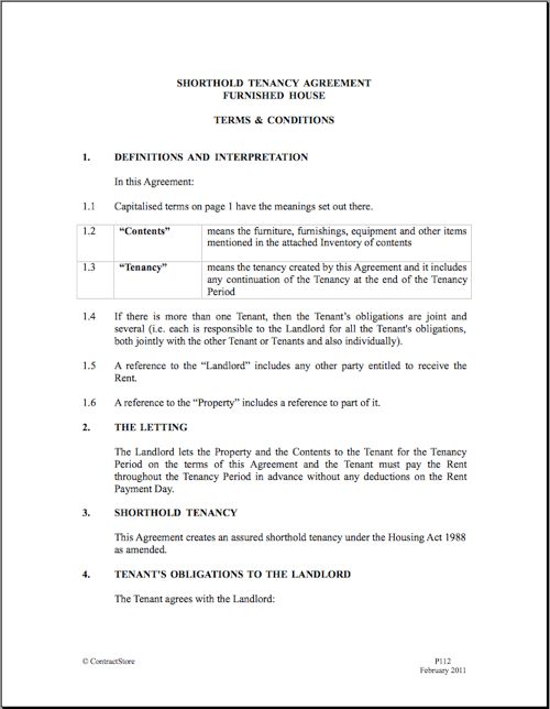 Rental Agreement Doc | Real Estate Forms