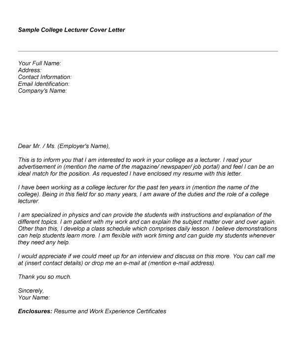 Sat Tutor Cover Letter
