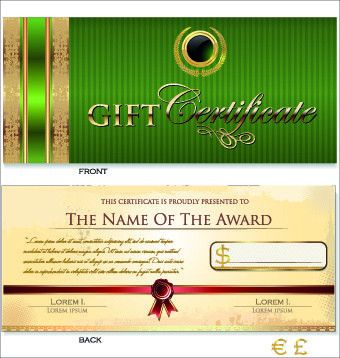 Free vector certificate templates free vector download (12,884 ...