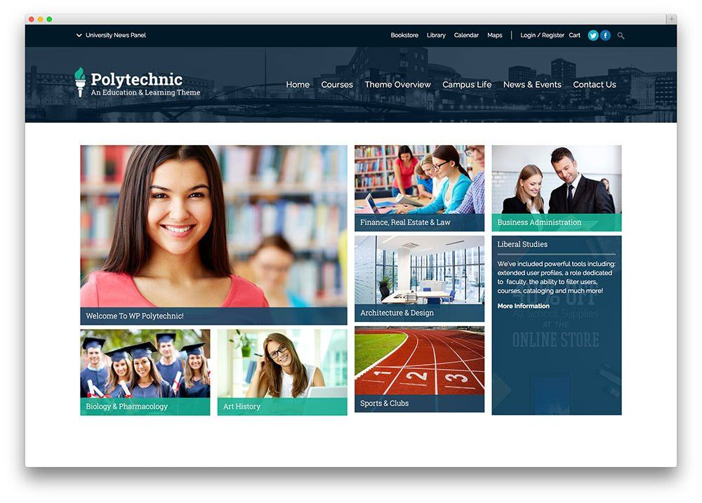 30 Awesome Responsive Education WordPress Themes For Online ...