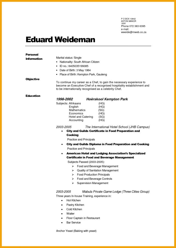 Intricate Make Your Own Resume 8 6 How To - Resume Example