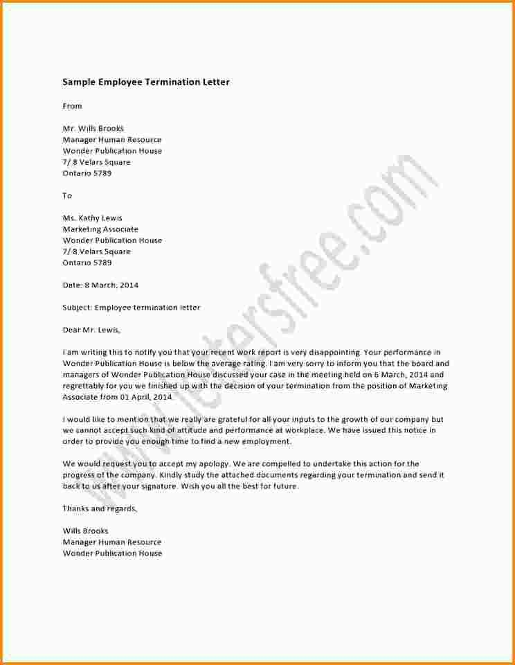 Termination Of Services Letter - formats.csat.co