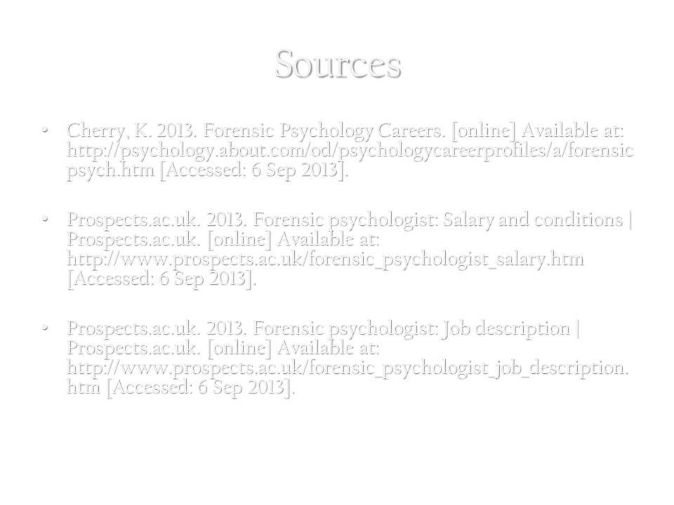 Forensic Psychology Courtney Facca. - ppt download