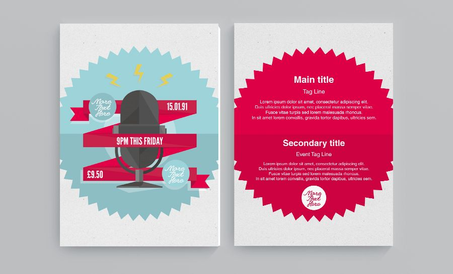 FREE Artwork Templates - PDF, AI and Photoshop print templates ...
