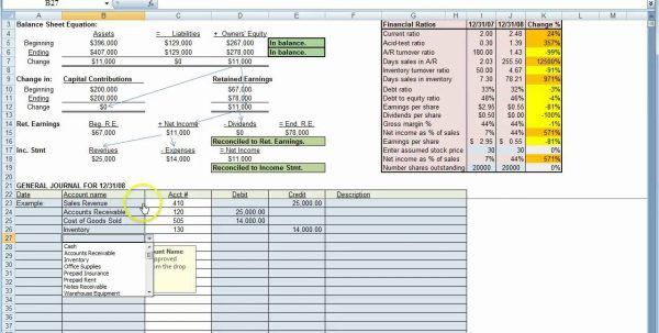 Bookkeeping Templates Free Excel Bookkeeping Excel Spreadsheet ...