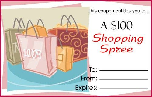 Printable Love Coupons at WithLuv