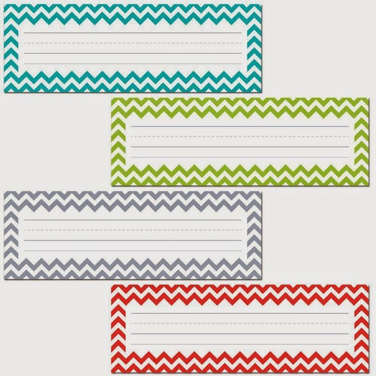 Best 25+ Chevron name tags ideas on Pinterest | Desk tags, Student ...