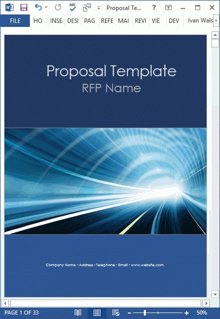 10 Proposal Templates (MS Word + Excel) - Proposal Writing Tips