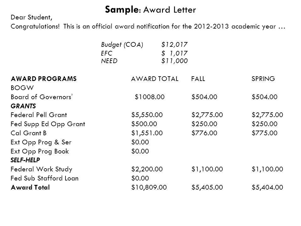 scholarship congratulations letter this letter is address to a ...