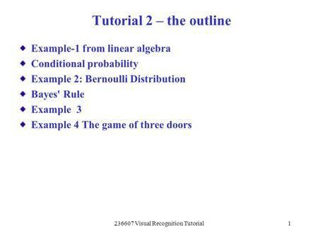 Probability, Bayes' Theorem and the Monty Hall Problem - ppt video ...