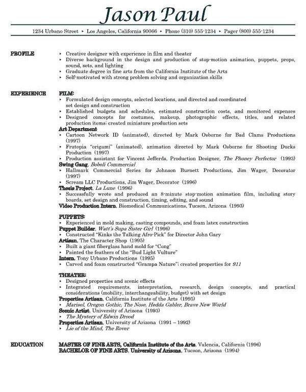 54+ [ Examples Of A Resume ] | 49 Best Resume Examples U0026 Tips ...