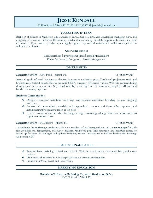Resume Objective Examples For Any Job #1209 - http://topresume ...