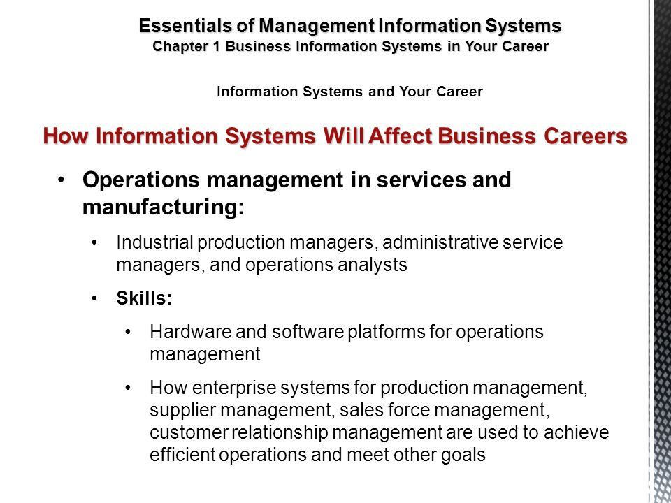 Business Information Systems in Your Career - ppt video online ...