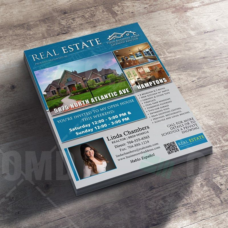 Detailed Open House Real Estate Listing Template – Real Estate ...