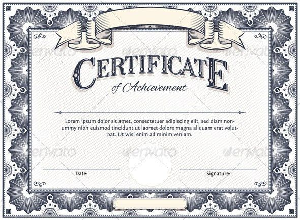 Beautiful Design of Editable Certificate of Completion Template ...