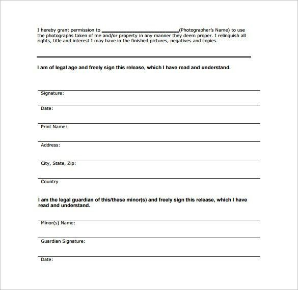 Sample Property Release Form - 14+ Download Free Documents in PDF ...