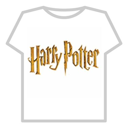 Harry Potter Shirt Template - ROBLOX