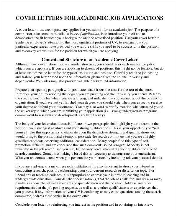 Generic Job Application - 8+ Free Word, PDF Documents Downlaod ...
