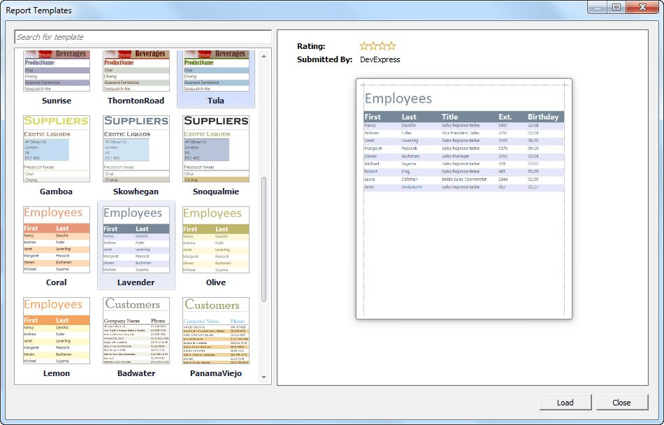 Exciting New 12.1 Reporting Features – Custom Report Templates ...