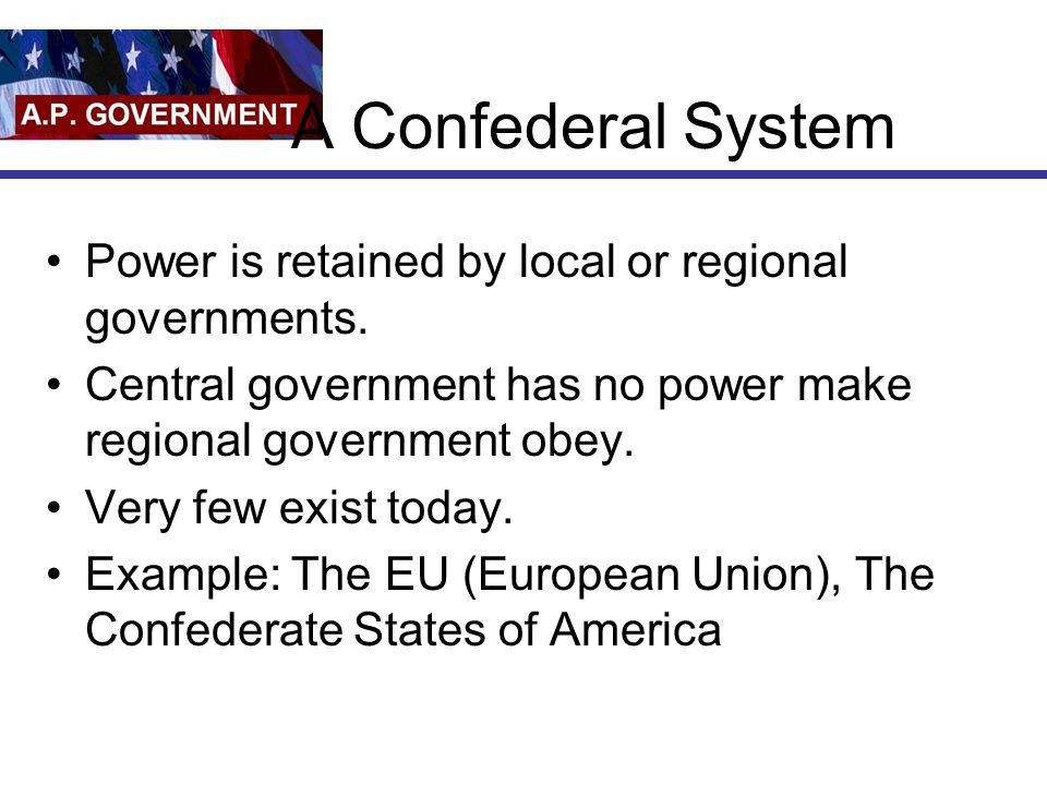 Federalism Chapter 3. Terms you need to know… Federalism ...