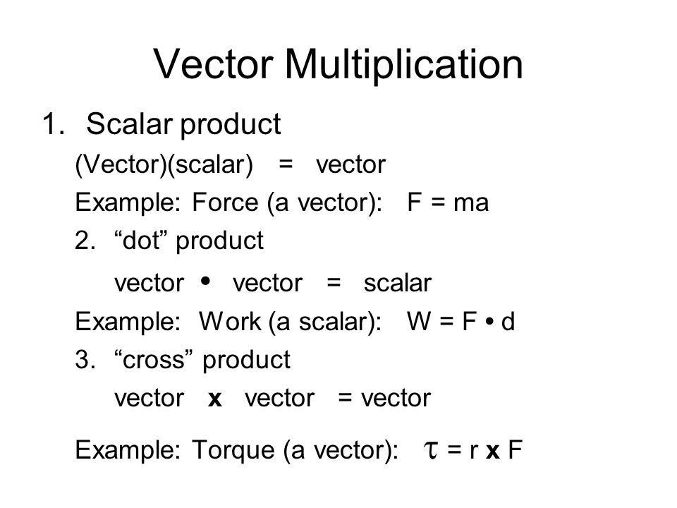 Vectors Vector: a quantity that has both magnitude (size) and ...