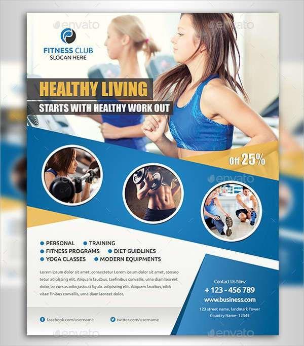 Fitness Flyer Examples   Free & Premium Templates