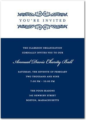 Sample Invitation Letter Corporate Dinner | Create professional ...