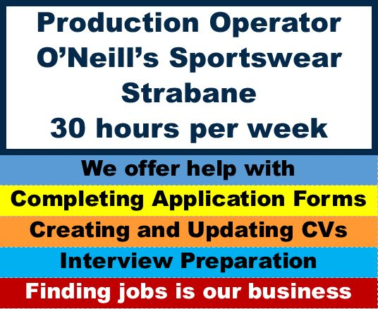 Production Operator Weekend Shift – Job Directions