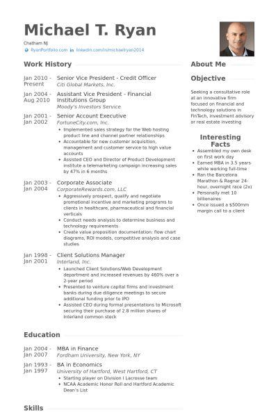 It Officer Resume samples - VisualCV resume samples database