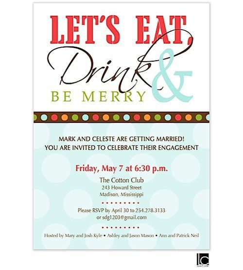 232 best engagement party invitations images on Pinterest ...