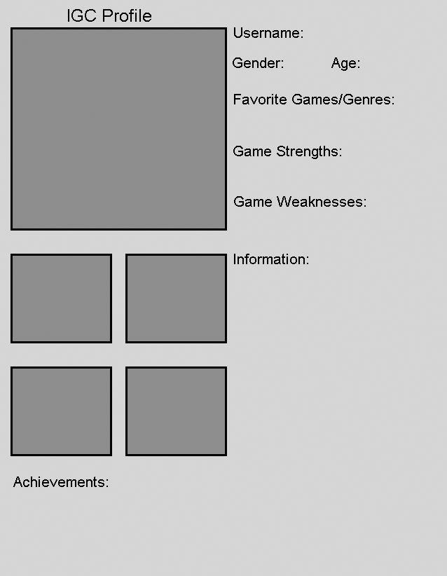 Player Profile Template by The-IGC on DeviantArt