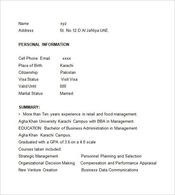 Restaurant Resumes. Restaurant Worker Resume Example We Provide As ...