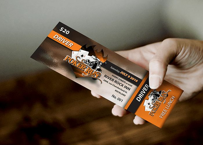 Event Tickets – Visual Graphic Design