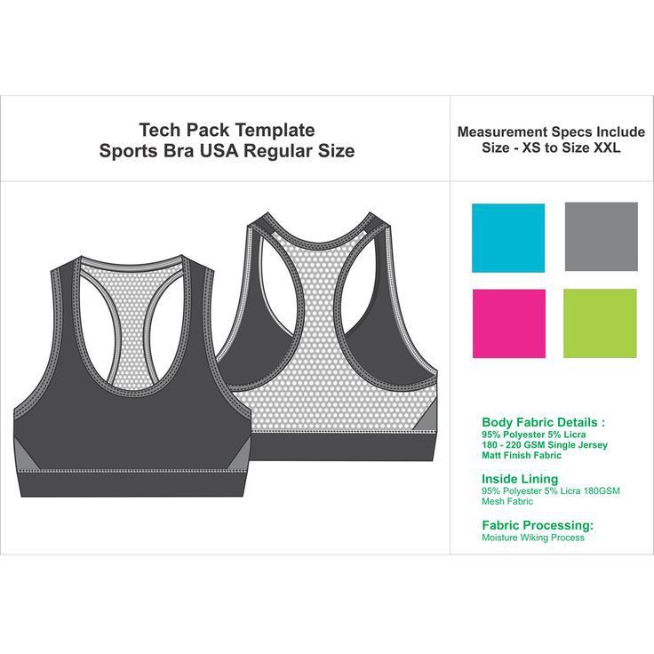 25 best Apparel Tech Pack images on Pinterest | Designer clothing ...