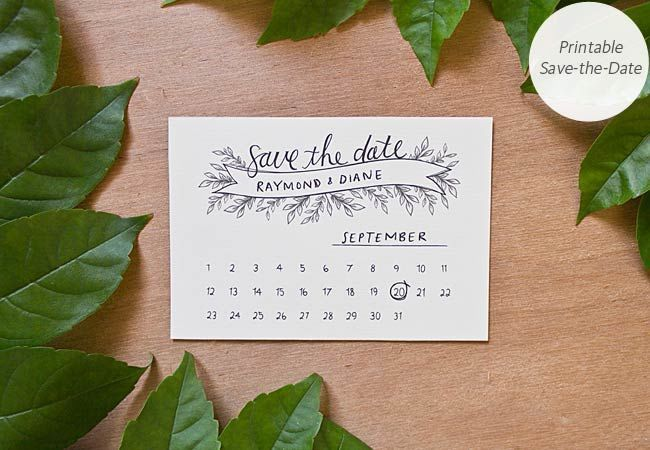 Download and Print These 10 Pretty Wedding Projects
